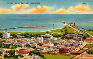 Mississippi Gulfport Aerial View