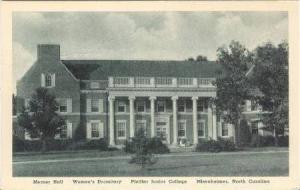 Merner Hall, Women's Dormitory, Pfeiffer Junior College, Misenheimer, North C...