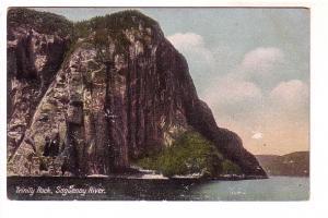 Trinity Rock, Saguenay River, Ontario, W G MacFarlane,