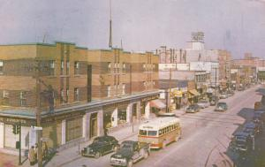 ROUYN , Quebec, Canada, 1950-60s ; Main Street