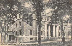 Delaware OH~Ohio Wesleyan University~OWU~Sanborn Hall~School of Music~1910 PC