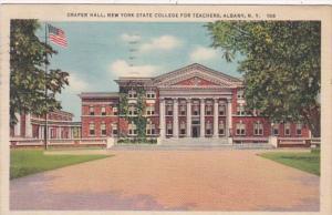 New York Albany Draper Hall New York State Teachers College 1937 Curteich