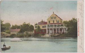 BATH Maine - NEW MEADOWS INN Hotel 1905 / Leighton
