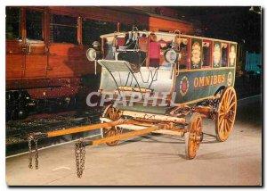 Modern Postcard 41 Facsimile of the 1829 Omnibus Shillibeer Horse