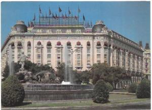 Madrid, Spain.  Palace Hotel.  Great stamps & cancelations!