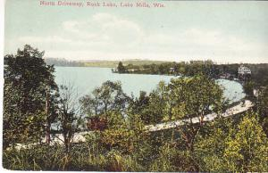 US - Wisconsin - North Driveway, Rock Lake, Lake Mills