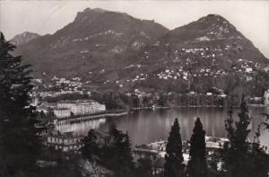 Switzerland Lugano Monte Bre e Monte Boglia 1957 Photo