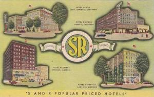 Colorado Colorado Springs Hotel Acacia & Other S & R Hotels Curteich