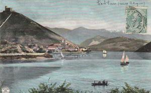LAGO DI PIEDILUCO, Italy, 1900-1910's; Sailboats