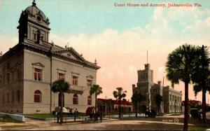 Florida Jacksonville Duval County Court House and Armory 1914