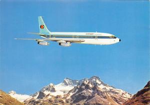 Vintage Aircraft Airline Postcard Conair of Scandinavia Boeing 720 42B