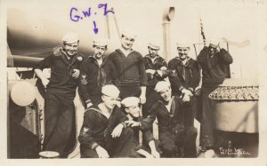 RP: USS GEORGIA Sailors , 1912