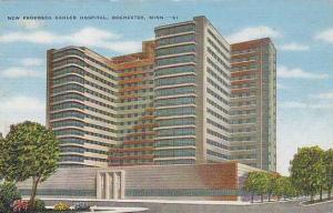 Exterior, New Proposed Kahler Hospital, Rochester,  Minnesota, 30-40s