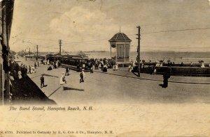 NH - Hampton Beach. The Band Stand      (worn)
