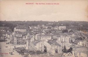 France Baccarat Rue des Ponts entierment detruite