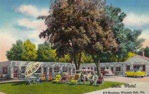 Wisconsin Dells , 1956 ; The Dells Motel
