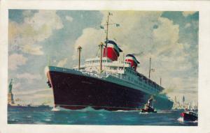 American-Flag luxury liner, S.S. AMERICA, PU-1955