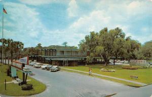 Silver Springs Florida Cafeteria Entrance Street View Vintage Postcard K35813