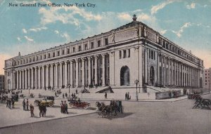 NEW YORK CITY, New York, PU-1922; New General Post Office