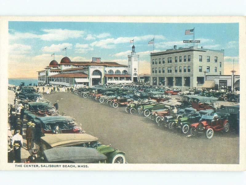 W Border Old Cars At Dennis Hotel Salisbury Beach By Newburyport Boston Ma D7358
