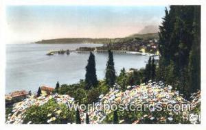 Menton, France, Carte, Postcard Cap Martin  Cap Martin