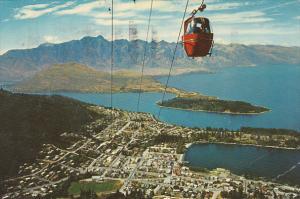 New Zealand Queenstown Skyline Gondolalift