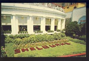 Atlantic City, New Jersey/NJ Postcard, The Shelburne Hotel, Sun Deck, Boardwalk