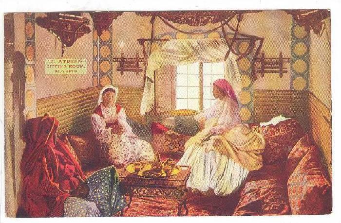 Interior, A Turkish Sitting Room, Algeria, Africa, 1900-1910s
