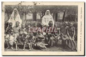 Postcard Old Missions PP child of the Holy Ghost Class