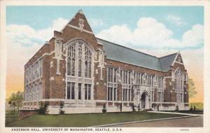 Anderson Hall , University of Washington , Seattle , 1910s