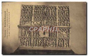 Postcard Old Toulouse Museum St Raymond reliquary box
