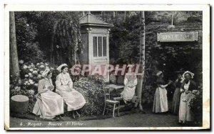 Old Postcard Royat Source St Victor