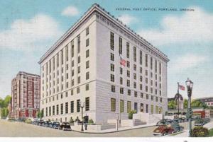 Oregon Portland Federal Post Office 1959