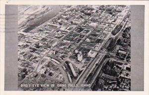 Birds Eye View Of Idaho Falls Idaho 1948