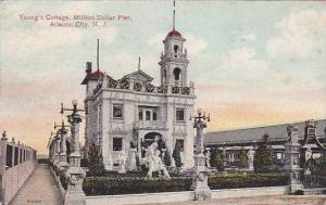 New Jersey Atlantic City Youngs Cottage Million Dollar Pier 1915