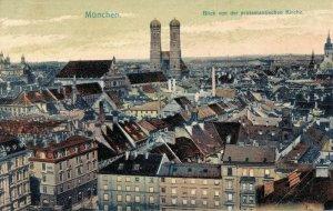 Germany München Blick von der protestantischen Kirche 03.32