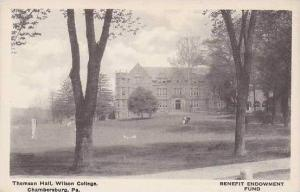 Pennsylvania Chambersburg Thomson Hall Wilson College Albertype