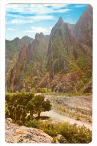 Sierra De La Huasteca, Huasteca's Ridge Of Mountain, Monterrey, Nuevo Leon, M...