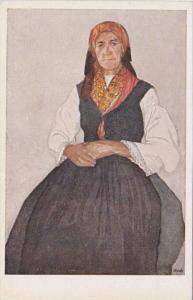 Frau Aus Tunis Pprof Leopold Resch