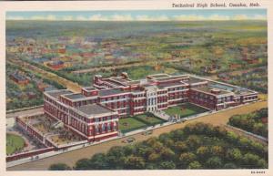 Nebraska Omaha Technical High School Curteich