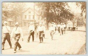 Keota Iowa~4th of July Parade~The Businessmen~Joe is One~Houses~Car~1911 RPPC