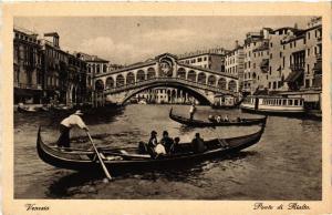 CPA AK VENEZIA Ponte di Rialto ITALY (507362)