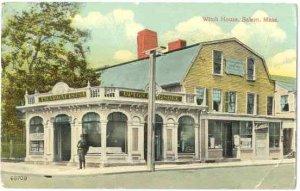 Witch House, Salem, Massachusetts, MA, Divided Back