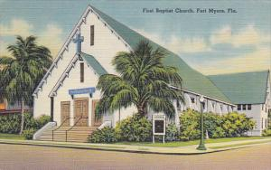 Forida Fort Myers First Baptist Church