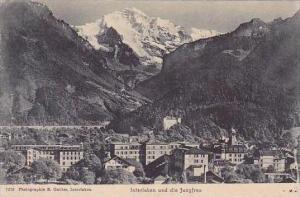 Swtzerland Interlaken und die Jungfrau