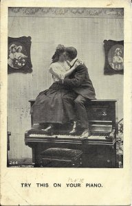 Kissing On Piano