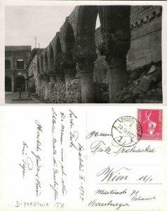 turkey kurdistan, DIYARBAKIR Diyarbakır, Mosque Behrampasa, Islam (1937) RPPC 3