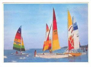 Sailboats , Hilton Head , South Carloina , PU-1988