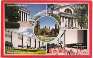 SMITHSONIAN MUSEUMS, Washington, D.C., unused Postcard