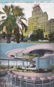 California San Diego El Cortez Hotel and Famous Sky Room
